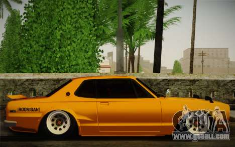 Nissan Skyline 2000GT-R Hoon for GTA San Andreas right view