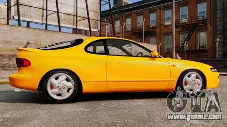 Toyota Celica ST185 GT4 for GTA 4 left view