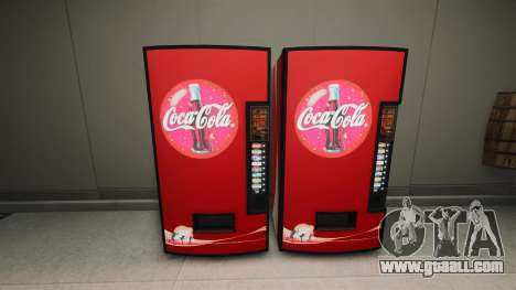 Coca-Cola vending machines for GTA 4