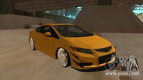 Honda Civic SI 2012 for GTA San Andreas left view