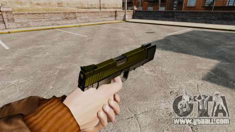 Self-loading pistol USP H&K v5 for GTA 4 second screenshot