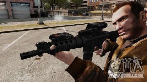 Tactical M4 v2 for GTA 4 forth screenshot