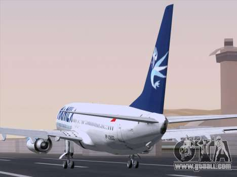 Boeing 737-800 Spirit of Manila Airlines for GTA San Andreas back left view