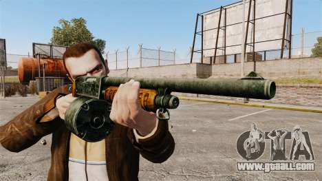 Pump-action shotgun for GTA 4