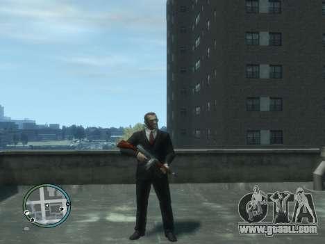 Thompson for GTA 4 fifth screenshot