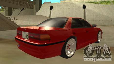 Toyota Chaser JZX81 Touge Style for GTA San Andreas right view