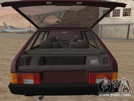VAZ 2109 for GTA San Andreas wheels