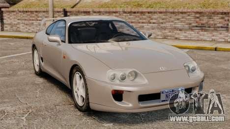 Toyota Supra MKIV 1995 v3.5 for GTA 4