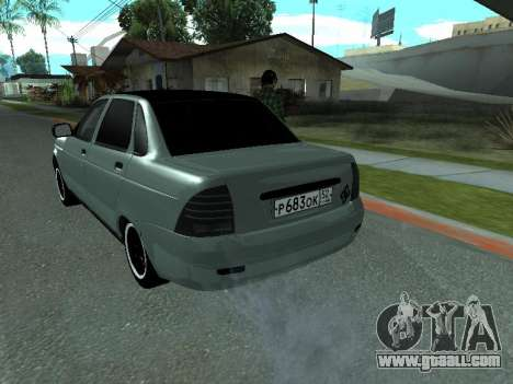 VAZ-2170 for GTA San Andreas right view