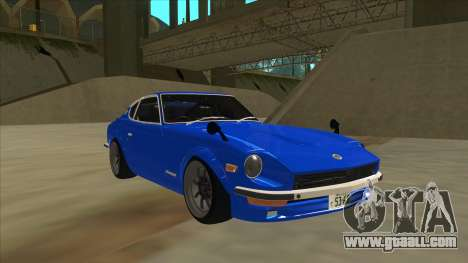 Nissan Wangan Midnight Devil Z S30 for GTA San Andreas left view
