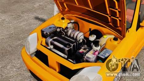 Daewoo Lanos Sport US 2001 for GTA 4 inner view
