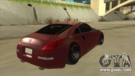 Nissan 350Z JDM for GTA San Andreas right view