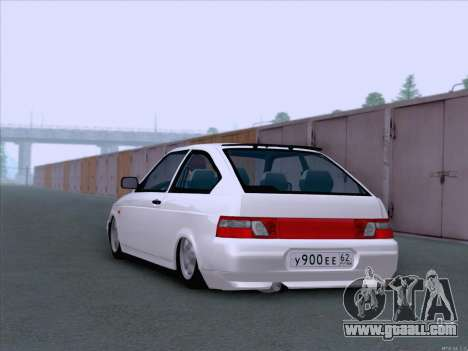 LADA 2112 low clearance for GTA San Andreas right view