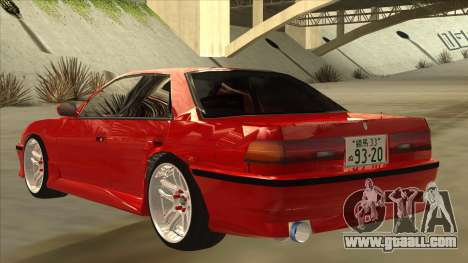 Toyota Chaser JZX81 Touge Style for GTA San Andreas back view