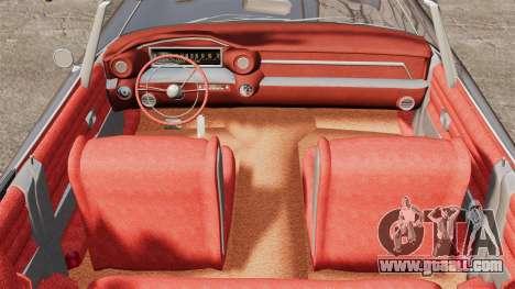 Cadillac Eldorado 1959 v1 for GTA 4 back view