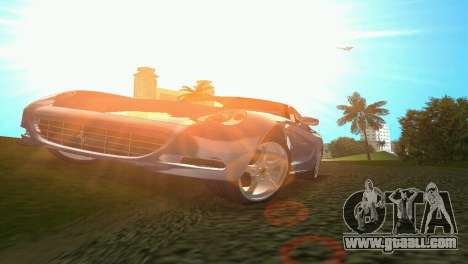 Ferrari 612 Scaglietti 2005 for GTA Vice City back view
