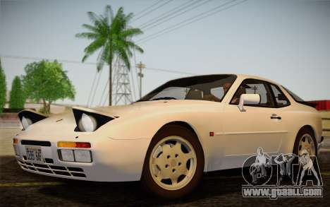 Porsche 944 Turbo Coupe 1985 for GTA San Andreas