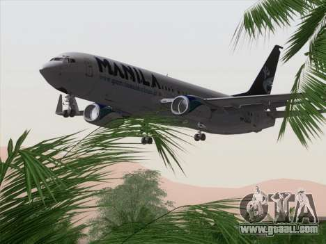 Boeing 737-800 Spirit of Manila Airlines for GTA San Andreas engine