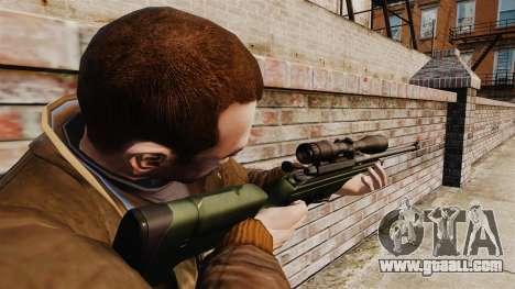 Sniper rifle Sako TRG-42 for GTA 4