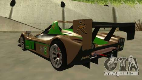 Radical SR8 RX for GTA San Andreas back view