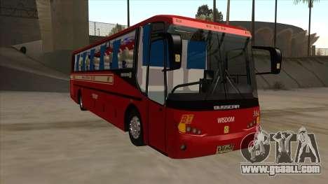 Bagong Lipunan Transit BM 384 for GTA San Andreas left view