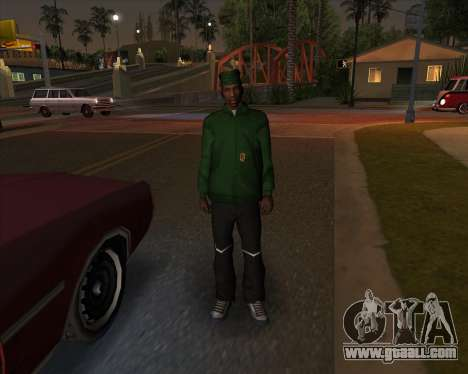 Market sports garments for GTA San Andreas second screenshot