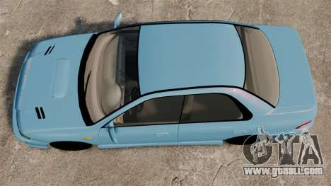 Subaru Impreza WRX STI 5 Domestic Drifter 1999 for GTA 4 right view