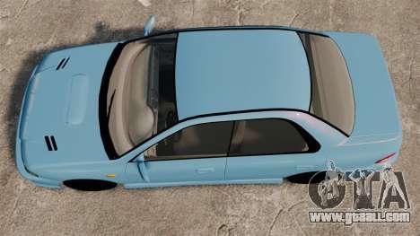 Subaru Impreza WRX STI 5 Domestic Drifter 1999 for GTA 4