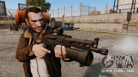 Submachine gun pp-19 Bizon for GTA 4 third screenshot