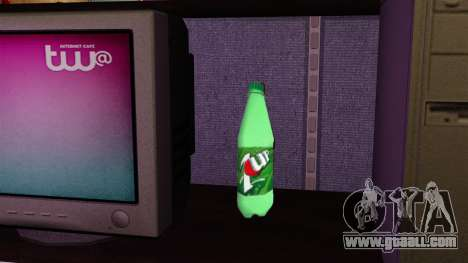 The new bottle of fizzy drink 7UP for GTA 4 third screenshot