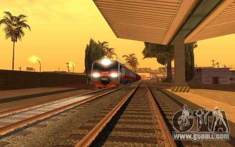 Train light for GTA San Andreas