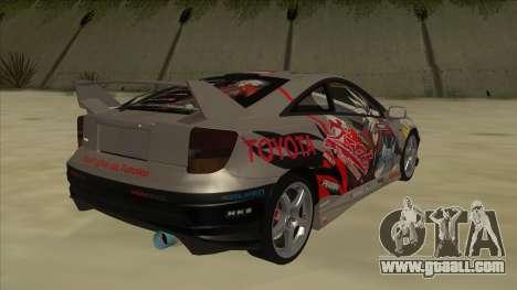 Toyota Celica ZZT231 Itasha for GTA San Andreas right view