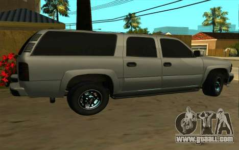 Chevrolet Suburban for GTA San Andreas left view