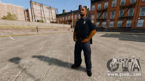 An updated wardrobe for police for GTA 4