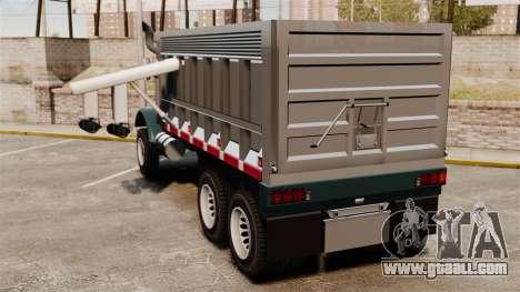 New truck Biff for GTA 4 back left view