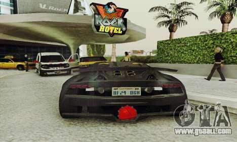 Lamborghini Sesto Elemento for GTA San Andreas side view