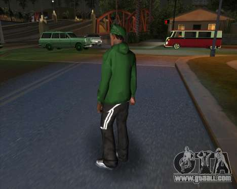 Market sports garments for GTA San Andreas