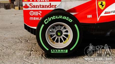 Ferrari F138 2013 v3 for GTA 4 back view