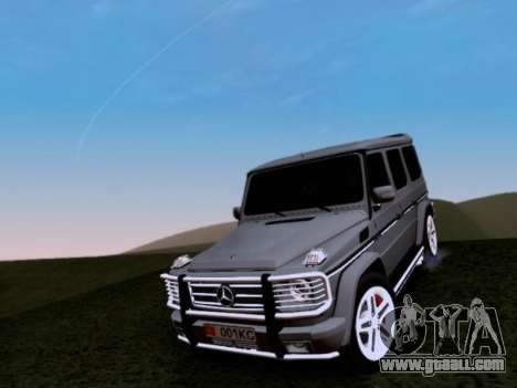 Mercedes-Benz G55 AMG for GTA San Andreas upper view