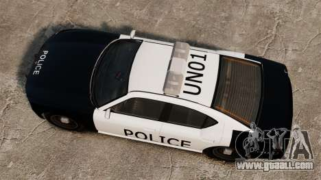 Buffalo police officer LAPD v1 for GTA 4 right view