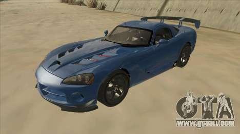Dodge Viper SRT-10 ACR TT Black Revel for GTA San Andreas