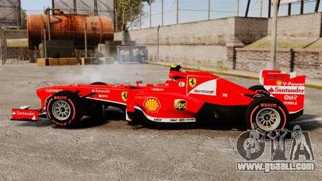 Ferrari F138 2013 v6 for GTA 4 left view