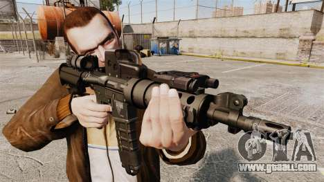 Tactical M4 v3 for GTA 4 third screenshot