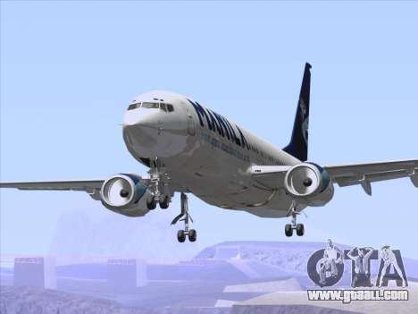 Boeing 737-800 Spirit of Manila Airlines for GTA San Andreas wheels