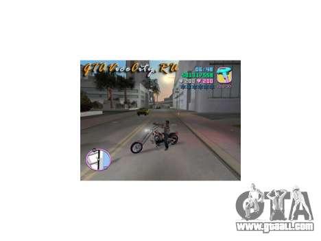 Harley Chopper for GTA Vice City