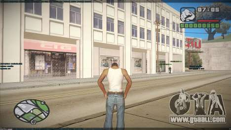 GTA HD Mod for GTA San Andreas fifth screenshot