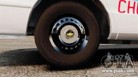 Chevrolet Caprice 1994 [ELS] for GTA 4 back view