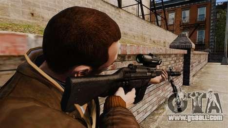 HK G3SG1 sniper rifle v1 for GTA 4 second screenshot