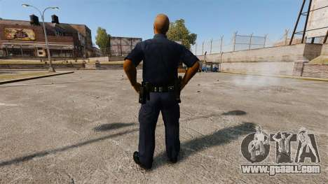 An updated wardrobe for police for GTA 4 third screenshot