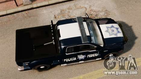 Ford F-150 De La Policia Federal [ELS & EPM] v2 for GTA 4 right view